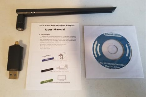 Review Inamax 1200Mbps USB 3.0 WiFi Adapter with 5dBi Antenna All