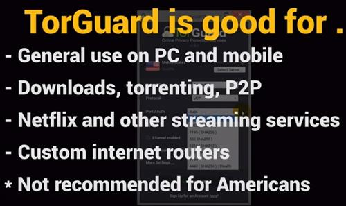 Best VPN Services 2018 TorGuard
