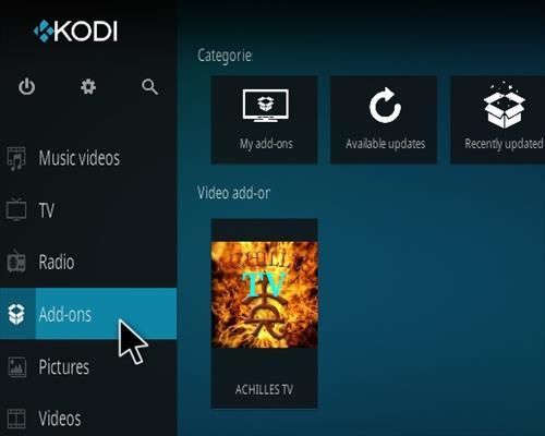 How To Install Achilles TV Kodi Addon Step 14