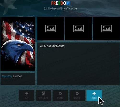 How To Install Freedom Kodi Addon New Step 18