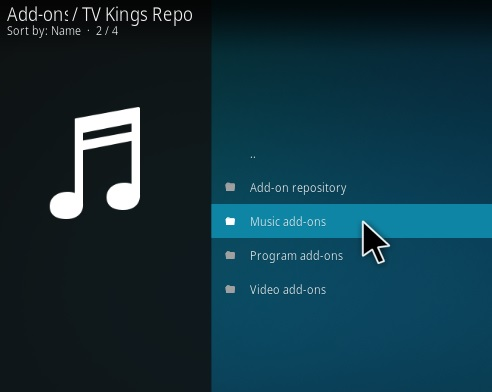 How To Install JAMZ Kodi Music Addon Step 17