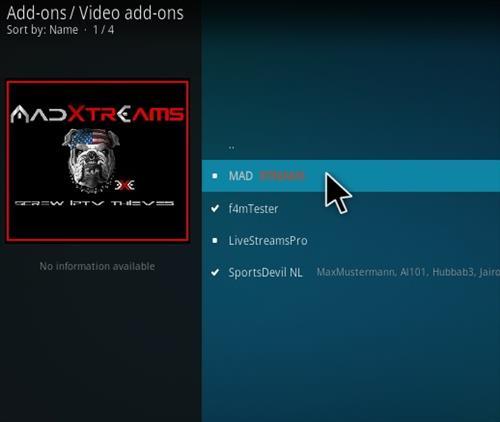 How To Install Mad Xtreams Kodi Addon Step 18