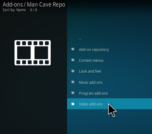 How To Install Man Cave Entertainment Kodi Addon Step 17