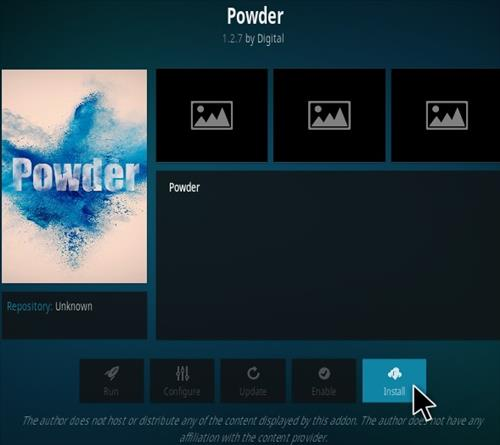 How To Install Powder Kodi Addon (Elysium Fork) Step 18