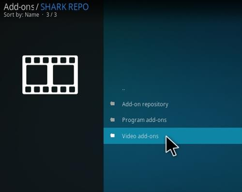 How To Install Shark Kodi Sports Addon Step 17