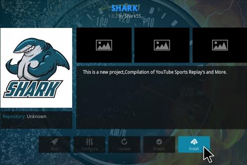 How To Install Shark Kodi Sports Addon Step 19