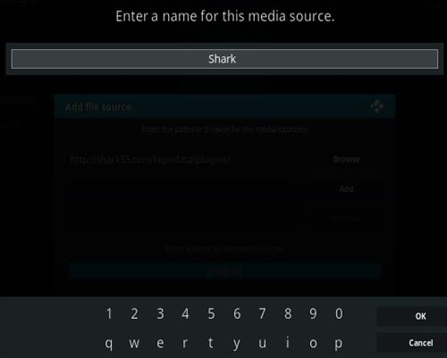How To Install Shark Kodi Sports Addon Step 6
