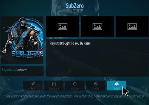 How To Install Sub Zero Kodi Addon Udpated 2018 Step 18