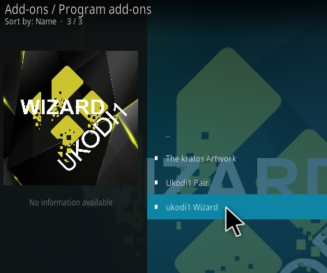 How To Install Ukodi1 Light and Tight Kodi Build Step 18