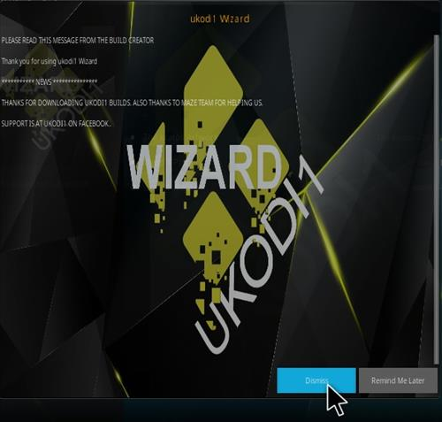 How To Install Ukodi1 Light and Tight Kodi Build Step 21