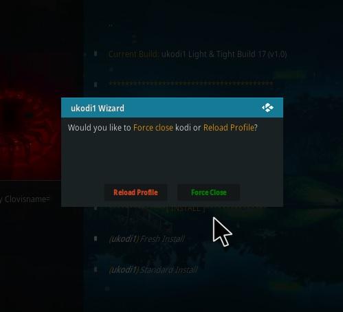 How To Install Ukodi1 Light and Tight Kodi Build Step 28