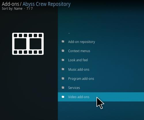 How to Install Abyss Kodi Addon Step 16
