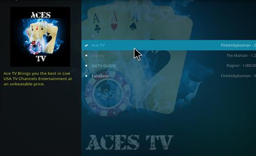 How to Install Ace TV Kodi Add-on step 17