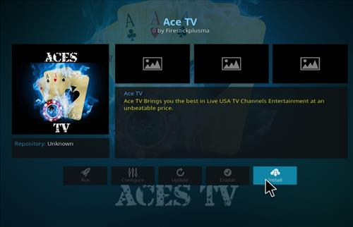 How to Install Ace TV Kodi Add-on step 18