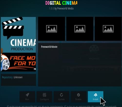 How to Install Digital Cinema Kodi Addon Step 18