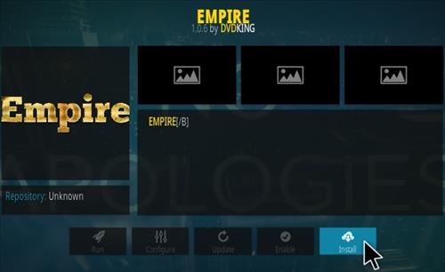 How to Install Empire Kodi Addon Step 18