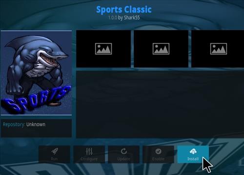 How to Install Sports Classic Kodi Addon Step 19