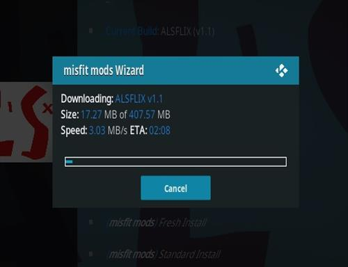 How To Install ALSFLIX Kodi Build Step 26