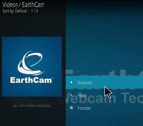 How To Install Earth Cam Kodi Live Stream Addon Overview