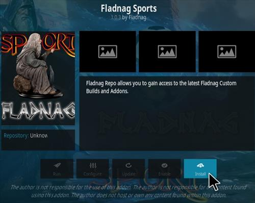 How To Install Fladnag Sports Kodi Addon Step 18