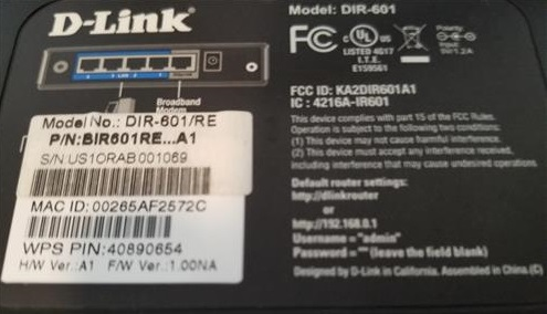 How To Install Flash DD-WRT on a D-Link 601 Router Info