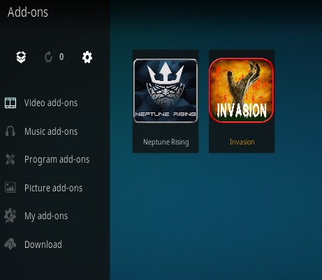 How To Install INVASION Kodi Addon Step 14
