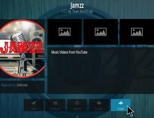 How To Install Jamzz Kodi Music Addon