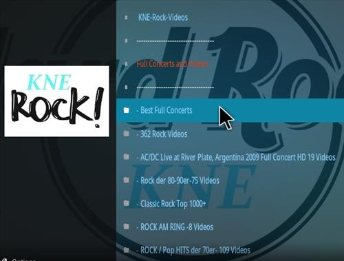 How To Install KNE Rock Kodi Addon Overview