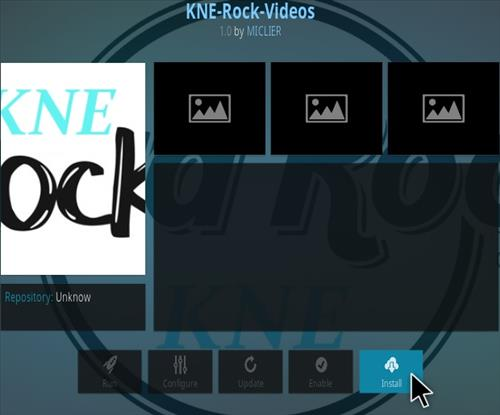 How To Install KNE Rock Kodi Addon Step 18