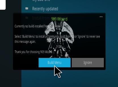 How To Install KRYPTONIC Kodi Build Step 15