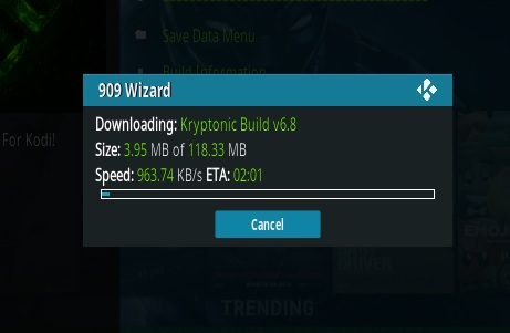 How To Install KRYPTONIC Kodi Build Step 19