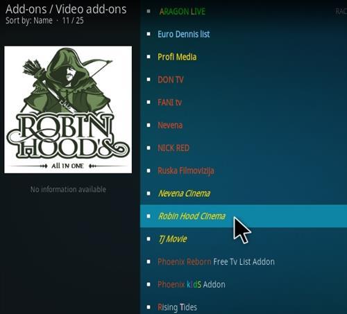 How To Install Robin Hood Cinema Kodi Addon | WirelesSHack