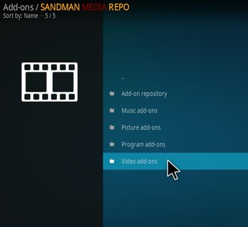 How To Install Sanity Kodi Addon Step 16