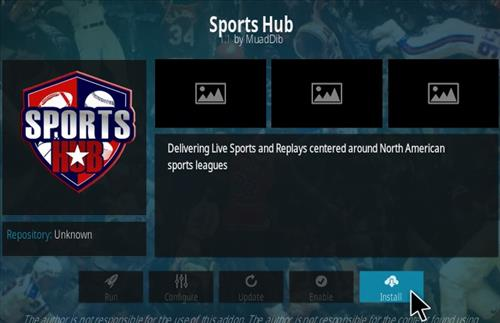 How To Install Sports Hub Kodi Addon | WirelesSHack