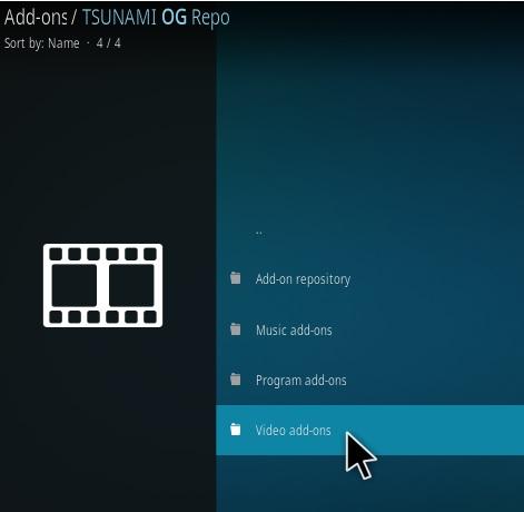 How To Install Tsunami OG Kodi Addon Step 16