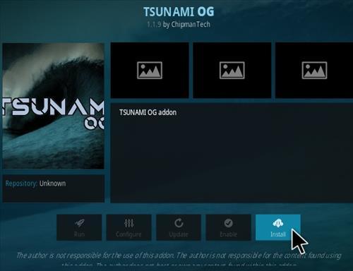 How To Install Tsunami OG Kodi Addon Step 18