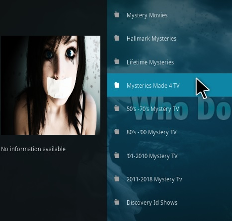 How To Install Who Done It Kodi Addon Overview