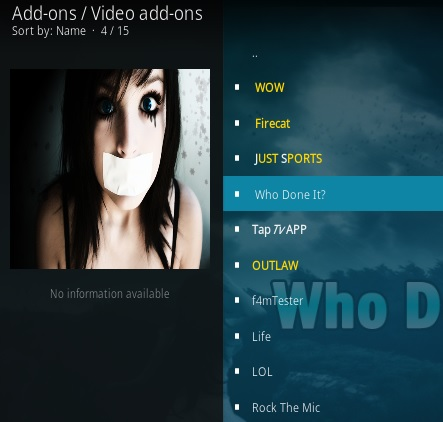 How To Install Who Done It Kodi Addon Step 17