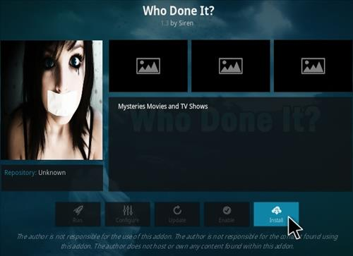 How To Install Who Done It Kodi Addon Step 18