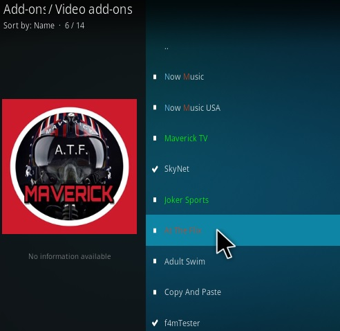 How to Install At The Flix Kodi Add-on New A 2018 Step 17