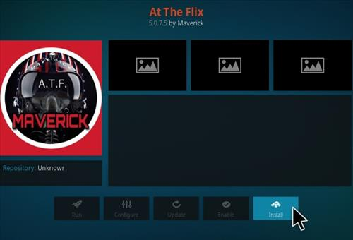 How to Install At The Flix Kodi Add-on New A 2018 Step 18