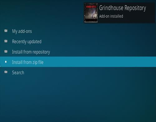 How to Install Grindhouse Fitness Kodi Addon Step 13