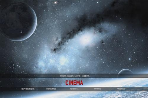 How to Install Stank Cosmos Kodi Build Screenshot 1