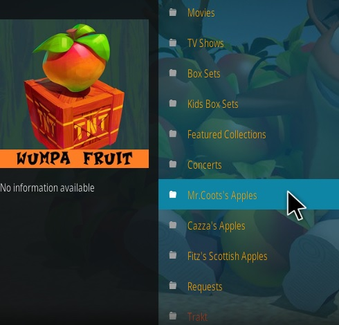 How to Install Wampa Fruit Kodi Addon NEw Overview