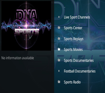Top Best Kodi Sports Addons 2018 New Agust Setember DNA