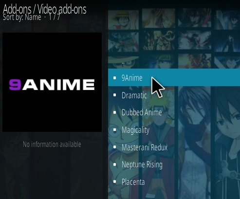 How To Install 9Anime Kodi Addon Step 17