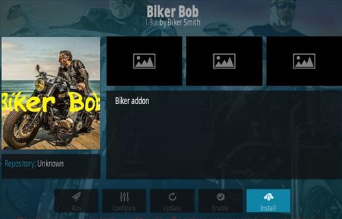 How To Install Biker Bob Kodi Addon Step 20