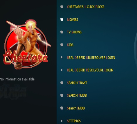 How To Install CHEETARA Kodi Addon Overview