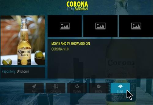 How To Install CORONA Kodi Addon Step 18
