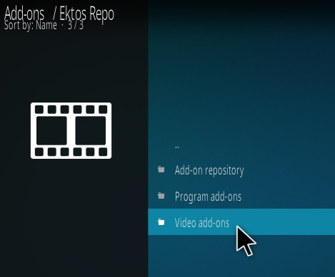 How To Install EKTOS New Kodi Addon Step 16